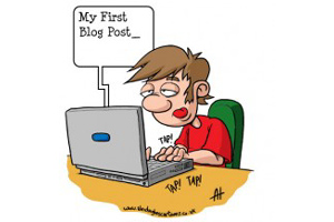 Blogging starts easily but doing it effectively can be hard word (Image: Alex Hughes)