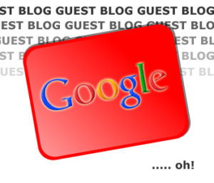 Could Google introduce a penalty for guest blogging?