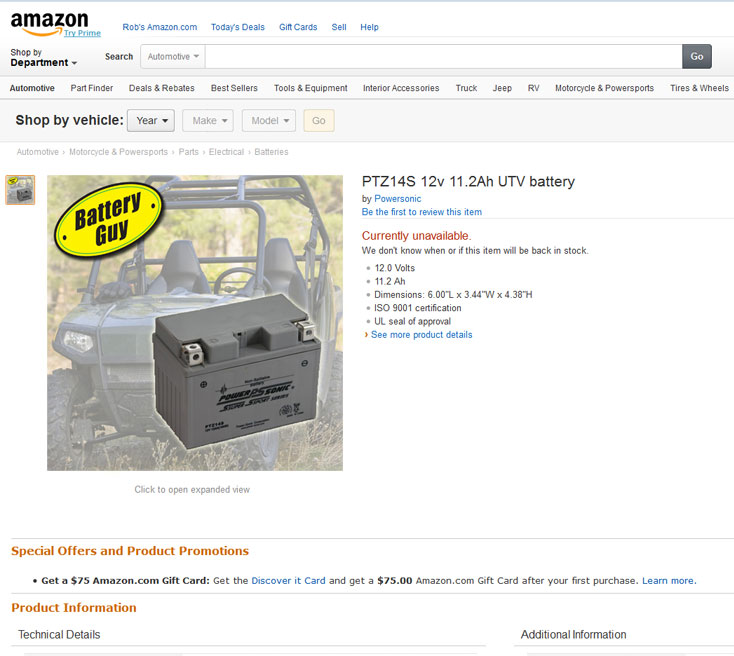My client's image on a product being sold directly by Amazon